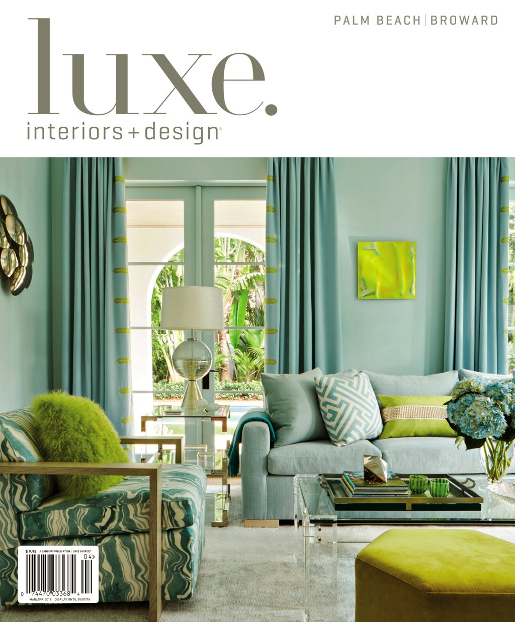 Luxe Magazine Palm Beach features our Cathy Choi acquisition on the cover