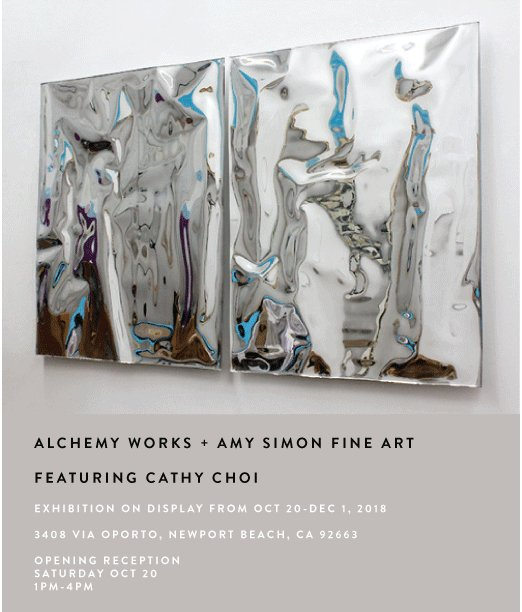 Collaborative Cathy Choi Exhibition at Alchemy Works, Newport Beach, CA